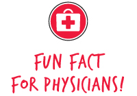 Fun Fact For Physicians!